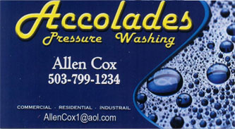 Accolades Power Washing
